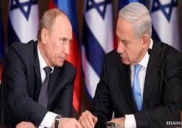 تبریک تلفنی پوتین به نتانیاهو به مناسبت تولد 70 سالگی