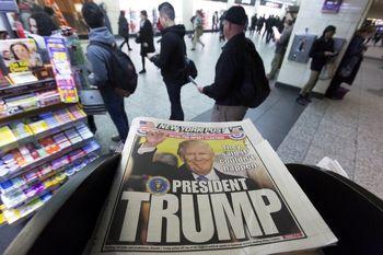 آبروریزی نظرسنجی ها در آمریکا/تضمین 239 الکترال برای ترامپ