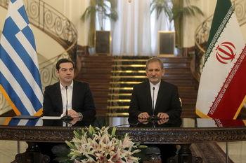 دیدار سیپراس با جهانگیری/ امضای 3 یادداشتتفاهم میان ایران و یونان