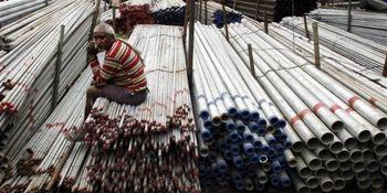 سومین ماه کاهش واردات فولاد هند