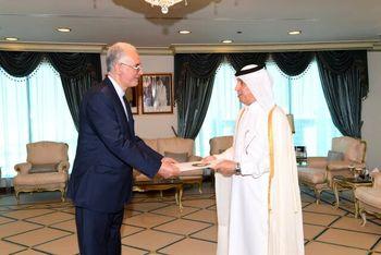 دیدار سفیر جدید ایران با وزیرمشاور در امور خارجه قطر