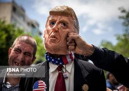تصاویر تظاهرات نمازگزاران در حمایت از تصمیم برجامی ایران