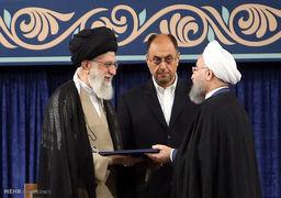 نخستین توییت روحانی پس از تنفیذ حکم دور دوم ریاست جمهوری + عکس