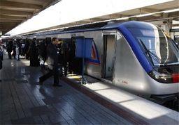 تهدید مسافران مترو با اسلحه پلاستیکی