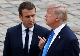 واکنش فرانسه به حملات لفظی ترامپ به مکرون