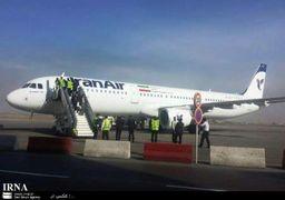 نخستین پرواز ایرباس جدید انجام شد