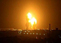 لحظه برخورد یکی از موشکهای ایران به پایگاه عینالاسد