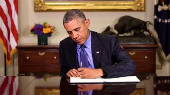 اوباما از تمدید قانون تحریمهای ایران حمایت میکند