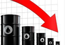 چرا قیمت نفت نزولی شد؟ + نمودار