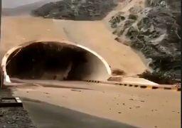 فیلمی از شدت بارش های چند روز اخیر در جنوب غرب ایران + فیلم