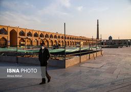 اصفهان در وضعیت قرمز کرونایی| تصاویر