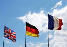 بیانیه انگلیس، فرانسه و آلمان درباره برجام
