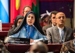 پاسخ قاطع فاطمه حسینی به اظهارات ضدایرانی نماینده بحرین