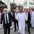 حضور وزیر خارجه انگلیس در خانه بنیانگذار آل سعود + عکس