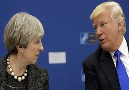 ترزا می: به رئیس جمهور آمریکا فشار وارد میکنیم