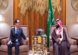 گفتگوی وزیر خزانهداری آمریکا با بن سلمان درباره اجرای تحریمهای ایران
