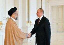 دیدار وزیر اطلاعات با رئیسجمهوری آذربایجان