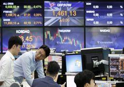 نوسانهای سرگیجهآور بازارهای بورس آسیا
