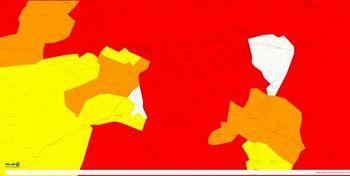 وضعیت کرونا در تهران/ مناطق ۲۲گانه تهران همچنان در وضعیت قرمز قرار دارند