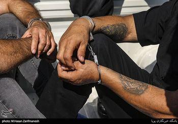 """دستگیری عاملان زورگیری و قمهکشی در آزاد راه """"تهران - شمال"""""""