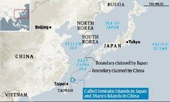 ناوهای چینی وارد آبهای ژاپن شدند