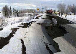 تصاویری از زلزله ۷ ریشتری در آمریکا