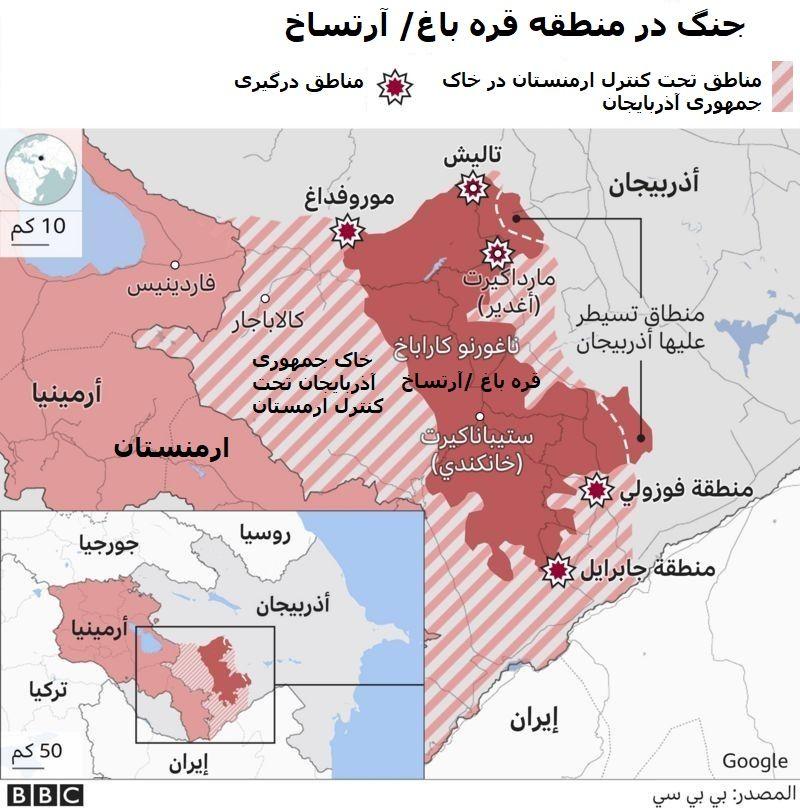 حمله ارمنستان به دومین شهر بزرگ آذربایجان/ بمباران پایتخت قره باغ/ الهام علی اف: 7 روستا را از اشغال ارمنستان آزاد کردیم