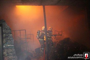 جزئیات کامل آتش سوزی 100 باب مغازه در بازار تهران + عکس