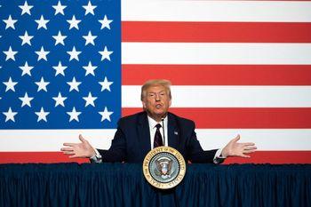 نمایش ترامپ برای پیروزی در انتخابات آمریکا