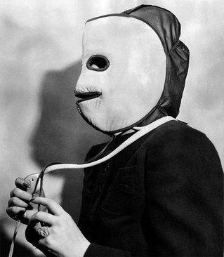 ماسک گرم کننده صورت؛ سال ۱۹۴۰