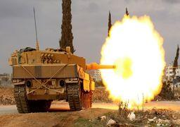درگیری شدید ارتش ترکیه و سوریه با همراهی شبهنظامیان کُرد