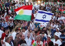 پرچم اسرائیل در خیابان های اربیل کردستان عراق بالا رفت + عکس