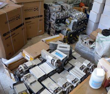 ۱۳۰ دستگاه استخراج ارز دیجیتال قاچاق کشف شد