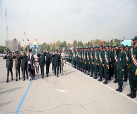 تصاویر حضور مقام معظم رهبری در دانشگاه امام حسین (ع)