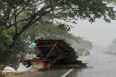 تصاویر طوفان فانی در خلیج بنگال
