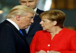 جنگ لفظی آمریکا و آلمان بالا گرفت /ترامپ بهدنبال مجازات ژرمنها