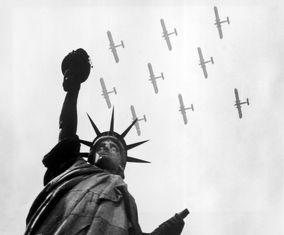 تصاویر «مجسمه آزادی» در گذار تاریخ