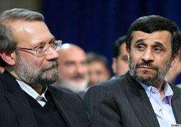 تلاش احمدینژادیهای برای ساختن دوگانه احمدینژاد - لاریجانی