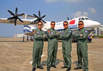 آزمایش بزرگترین هواپیمای آبی خاکی جهان + تصاویر