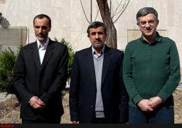دور شدن چهرهها از کنار احمدینژاد/ تقسیم کار با بقایی و مشایی