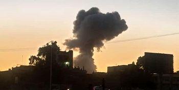 انفجار انبار مهمات جنگی در سوریه