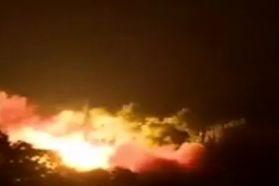 فیلم جدیدترین آزمایش موشکی کره شمالی