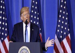 ادعای ترامپ: کشتی نظامی آمریکایی، پهپاد ایرانی را مورد هدف قرار داد!
