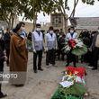 گزارش تصویری از تشییع پیکر اولین شهید زن سلامت در اصفهان