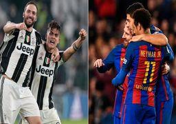 شب سخت بارسلونا برابر یوونتوس
