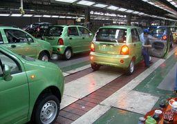 نوسان تولید در خودروسازان بخش خصوصی