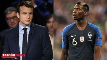 خداحافظی پوگبا ستاره فرانسوی فوتبال از تیم ملی؛ جنجالی که ماکرون به پا کرد