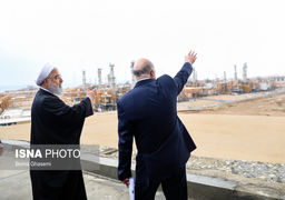 حضور رئیسجمهوری در افتتاح رسمی 4 فاز پارس جنوبی