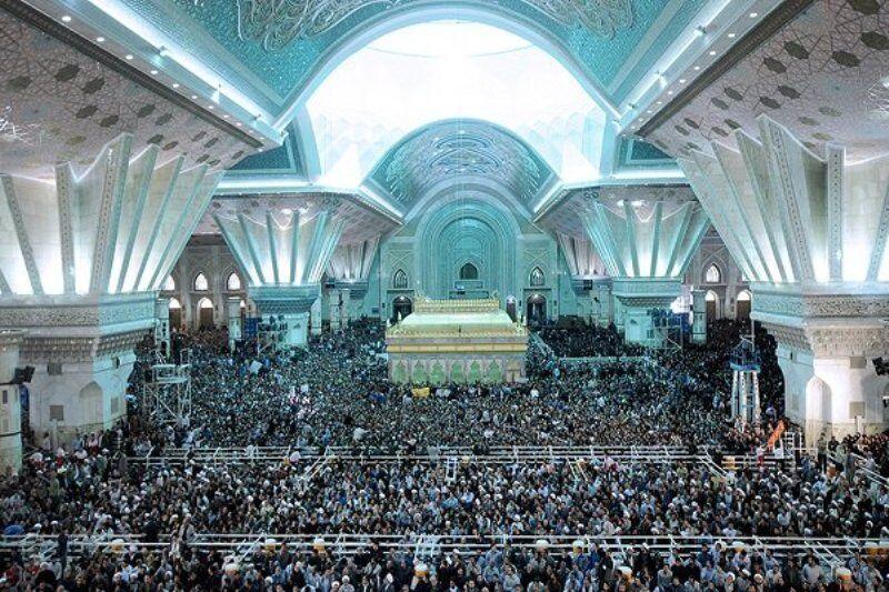 مراسم سی امین سالگرد ارتحال امام خمینی(ره) با حضور رهبر معظم انقلاب آغاز شد