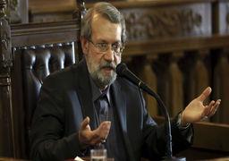 لاریجانی عازم مسکو شد/نشست بین پارلمانی ایران و روسیه